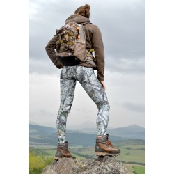 Camo hunting leggings