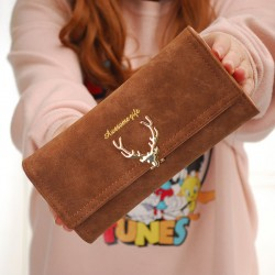 DEER Women Wallet PU...