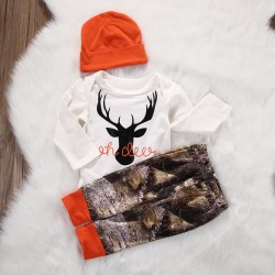 Baby hunter- Orange set