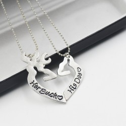 Deer hunting necklace