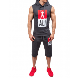 men sport set Boxing