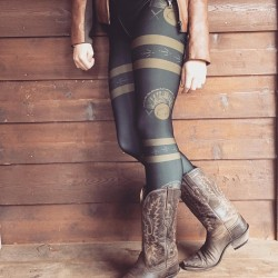 Turkey hunting theme leggings