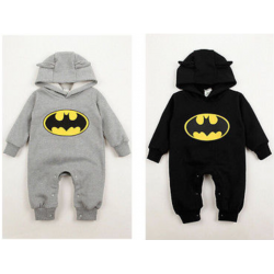 Baby Batman Romper Outfits...