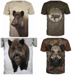 Boar T shirt - hunting
